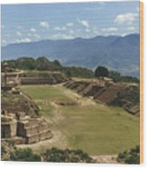 Mexico: Monte Alban Wood Print
