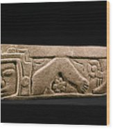 Mexico: Totonac Swimmer Wood Print