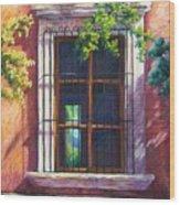 Mexico Window Wood Print