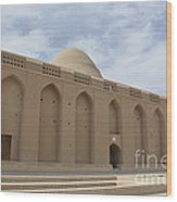 Meybod Ice House Yazd, Iran Wood Print