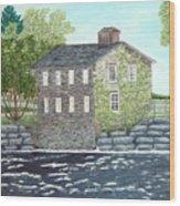 Meyers Mill Wood Print