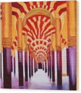 Mezquita De Cordoba Wood Print