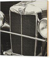 Mg Tc Sports Grill - Vintage Wood Print