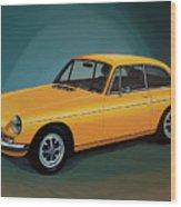 Mgb Gt 1966 Painting  Wood Print