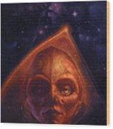mh mstaw ArtOf 28 KosmicThunder Matthew Stawicki Wood Print