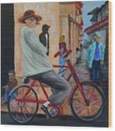 Mi Bicicleta Wood Print
