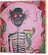Mi Margarita Wood Print by Heather Calderon