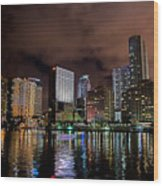 Miami Wood Print