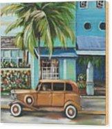 Miami Nice Wood Print