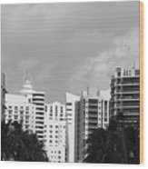Miami Sky Wood Print