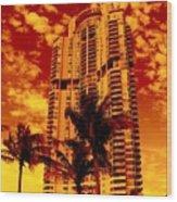 Miami South Pointe IIi Wood Print