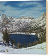 Mica Lake Wood Print