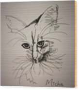 Micha Wood Print