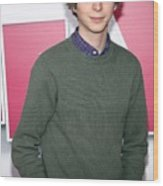 Michael Cera At Arrivals For Year One Wood Print