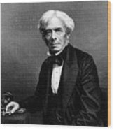 Michael Faraday, English Physicist Wood Print
