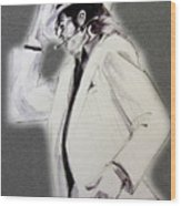 Michael Jackson - Smooth Criminal In Tii Wood Print