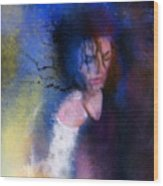 Michael Jackson 16 Wood Print by Miki De Goodaboom