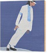Michael Jackson Smooth Criminal Wood Print