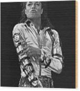 Michael Jackson - The King of Pop Wood Print
