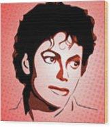 Michael Jackson - Thriller - Pop Art Wood Print