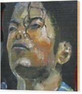 Michael Jackson Wood Print
