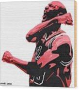 Michael Jordan Wood Print by Michael Ringwalt