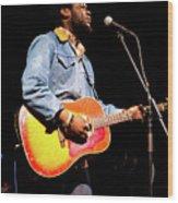 Michael Kiwanuka, Photographed By Anna Webber At Heartbreaker Ba Wood Print