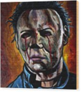 Michael Myers 2 Wood Print