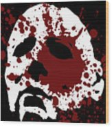 Michael Myers - Halloween Wood Print