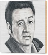 Michael Richards Cosmo Kramer Wood Print