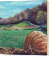 Michael's Great Pumpkin Wood Print