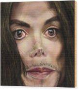 Michaels Magnum Opus 1 Wood Print by Reggie Duffie