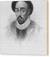 Michel Eyquem De Montaigne Wood Print