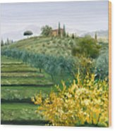 Michela's View Wood Print