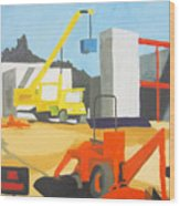 Micheles And Booth Construction Pensacola Wood Print