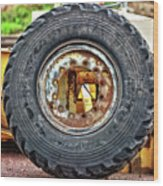 Michelin Weathered And Worn Wood Print