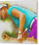 Michelle Wie Finally Won Her First Major Championship Wood Print
