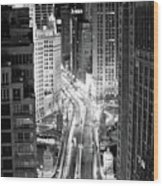 Michigan Avenue Wood Print by George Imrie Photography