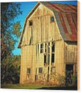 Michigan Barn Wood Print