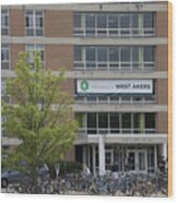 Michigan State University Welcome To Akers Signage Wood Print