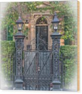 Mickell Jenkins Home Grand Entrance Wood Print