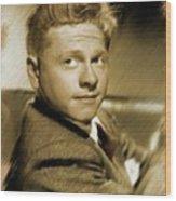 Mickey Rooney, Actor Wood Print