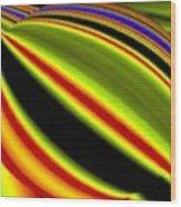Micro Linear 22 Wood Print