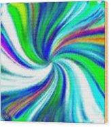Micro Linear 5 Wood Print