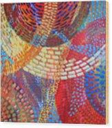 Microcosm IIi Wood Print by Rollin Kocsis
