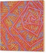 Microcosm Vii Wood Print