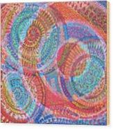 Microcosm Viii Wood Print