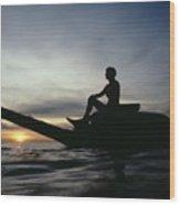 Micronesia, Saipan Wood Print