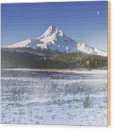 Mid-winter Morning Wood Print
