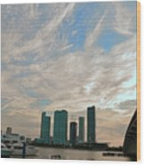 Midday In Miami 2 Wood Print